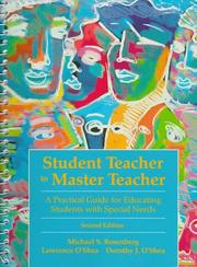 Cover of: Student teacher to master teacher | Michael S. Rosenberg