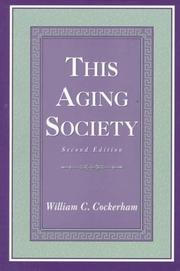 Cover of: This aging society