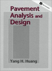 Cover of: Pavement analysis and design by Yang H. Huang