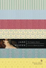 Cover of: The Complete Novels (Penguin Classics Deluxe Edition) | Jane Austen