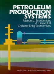 Cover of: Petroleum production systems