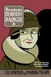 Cover of: The portable Dorothy Parker