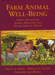 Cover of: Farm Animal Well-Being | Solon A. Ewing
