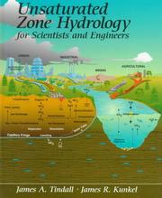 Cover of: Unsaturated zone hydrology for scientists and engineers