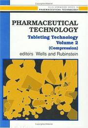 Cover of: Pharmaceutical Technology