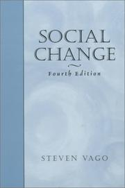 Cover of: Social change