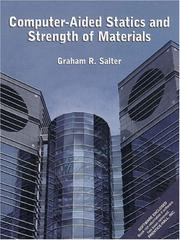Cover of: Computer-Aided Statics and Strength of Materials | Graham R. Salter