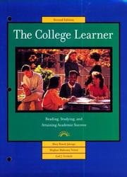 Cover of: The college learner