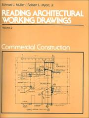 Cover of: Reading Architectural Working Drawings, Vol II. | Edward F. Muller