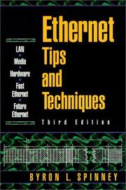 Cover of: Ethernet tips & techniques