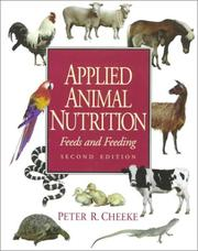 Cover of: Applied Animal Nutrition | Peter R. Cheeke