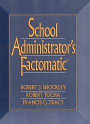 Cover of: School administrator