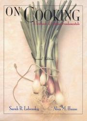 Cover of: On cooking