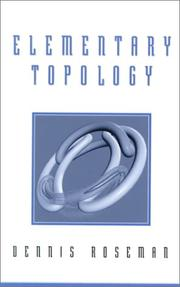 Cover of: Elementary Topology | Dennis Roseman