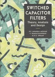 Cover of: Switched capacitor filters | P. V. Ananda Mohan