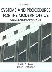 Cover of: Systems and Procedures For The Modern Office | Judith C. Simon