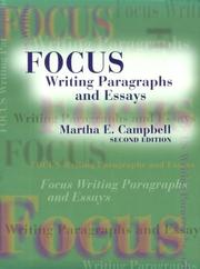 Cover of: Focus | Martha E. Campbell