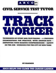 Cover of: Track worker