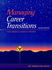 Cover of: Managing career transitions