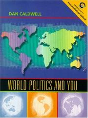 Cover of: World politics and you