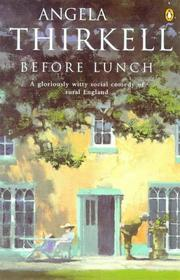 Cover of: Before Lunch
