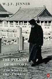 Cover of: The tyranny of history