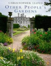 Cover of: Other Peoples Gardens