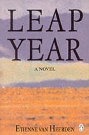 Cover of: Leap year: a novel