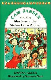 Cover of: Cam Jansen and the mystery of the stolen corn popper