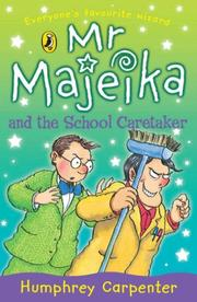 Cover of: Mr Majeika & the School Caretaker