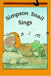 Cover of: Simpson Snail Sings