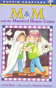 Cover of: M & M and the haunted house game
