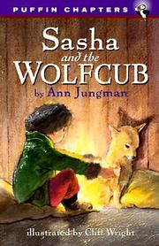 Cover of: Sasha and the wolfcub