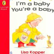 Cover of: I'm a Baby You're a Baby (Playtime Books)