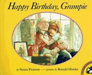 Cover of: Happy Birthday, Grampie | Susan Pearson