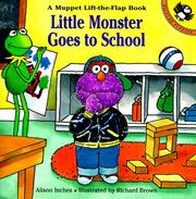 Cover of: Little Monster Goes to School