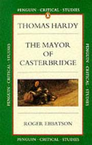 Cover of: The Mayor of Casterbridge