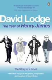 Cover of: The Year of Henry James