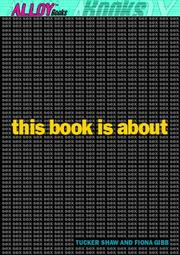 Cover of: This book is about sex | Tucker Shaw