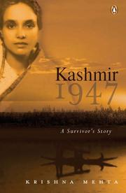 Cover of: Kashmir 1947