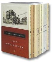 Cover of: The Steinbeck Centennial Collection:  The Grapes of Wrath, Of Mice and Men, East of Eden, The Pearl, Cannery Row, Travels With Charley, In Search of America (Boxed Set)