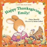 Cover of: Happy Thanksgiving, Emily! (Emily)