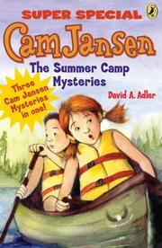 Cover of: Cam Jansen and the summer camp mysteries: a super special