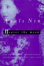 Cover of: Nearer the moon | AnaГЇs Nin
