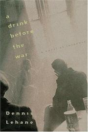 Cover of: A drink before the war