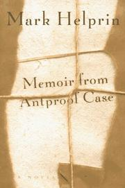 Cover of: Memoir from Antproof Case: a novel