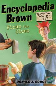 Cover of: Encyclopedia Brown Finds the Clues (Encyclopedia Brown)