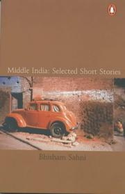 Cover of: Middle India