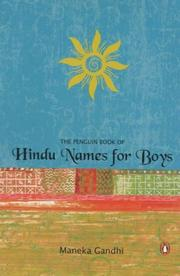 Cover of: The Penguin book of Hindu names for boys