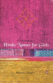 Cover of: The penguin book of Hindu names for girls